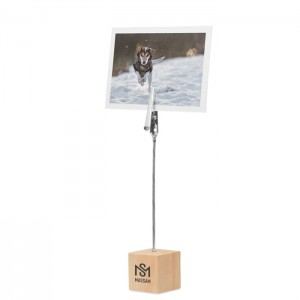 Bambusowy klips do notatek Hello Clip