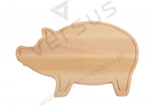 Deska do krojenia WOODEN PIGGY